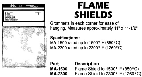 flame shields