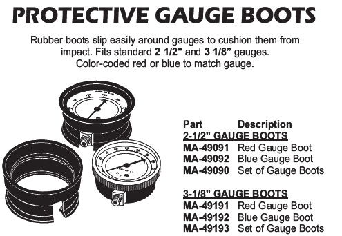 protective gauge boots