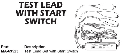 test leads with switch start